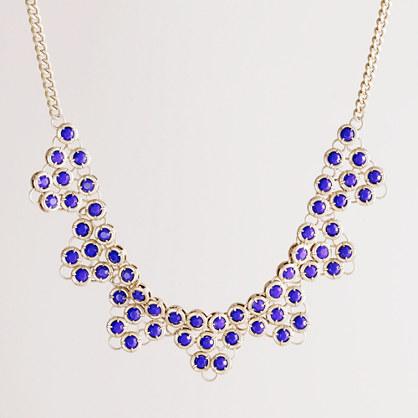 Stone storm necklace