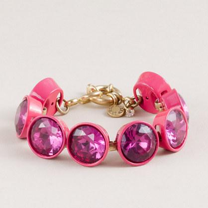 Crystal br�lée bracelet