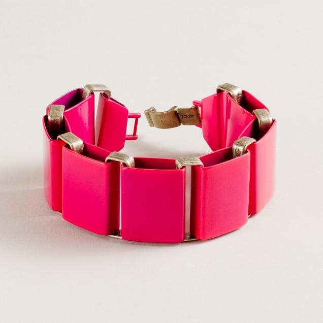 Jumbo link bracelet