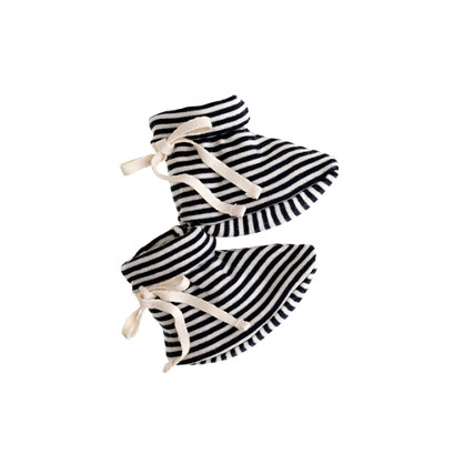 Nature Baby® for J.Crew booties in stripe