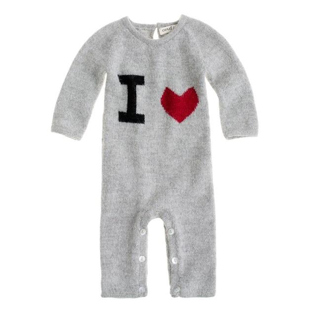 Oeuf® I heart baby jumper