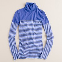 Painter turtleneck tee in stripe