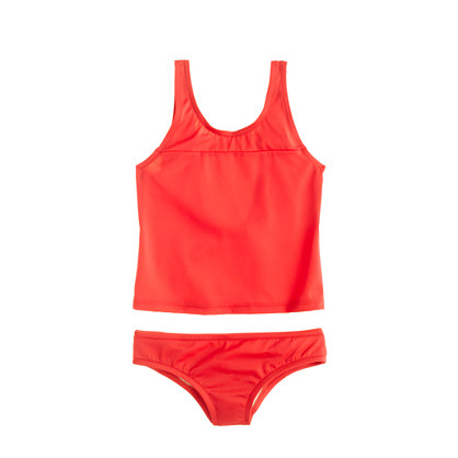 Girls' tankini set