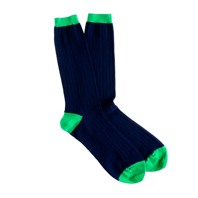 Merino dress socks