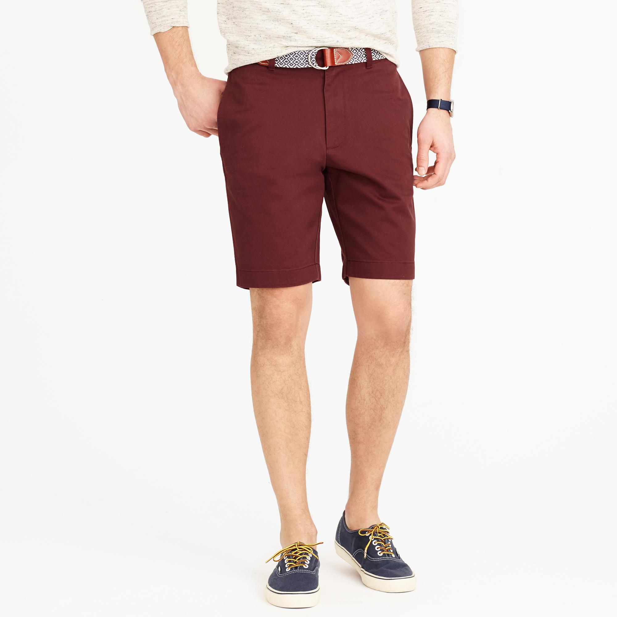 Navy Chino Shorts Mens