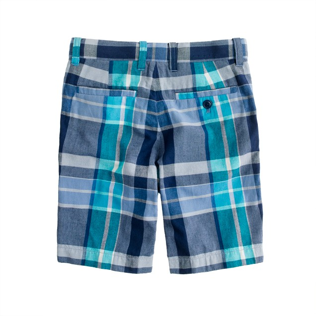 Boys' Stanton short in Indian cotton
