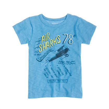 Boys' air sharks tee