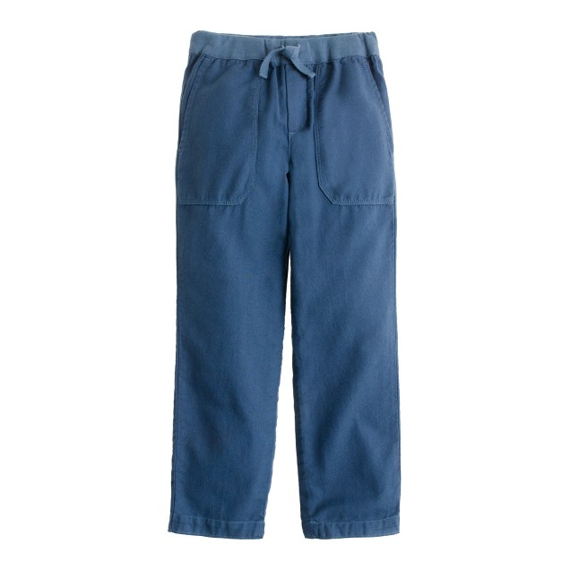 Boys' pull-on twill beach pant