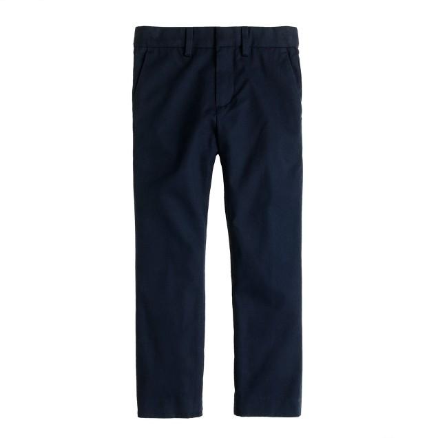 Boys' slim Ludlow suit pant in Italian chino