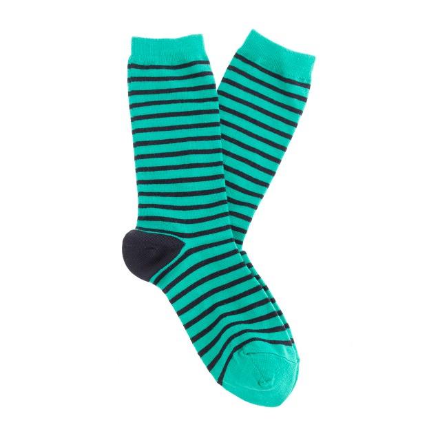 Skinny stripe socks