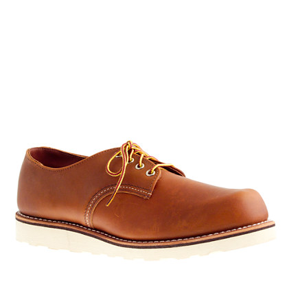 Red Wing Plain Toe Oxford Red Wing® For J.crew Plain-toe