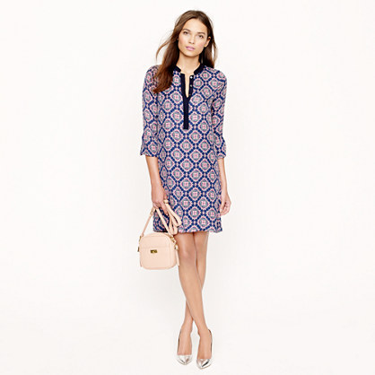 Rosie dress in medallion paisley