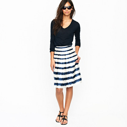 Painted rope skirt