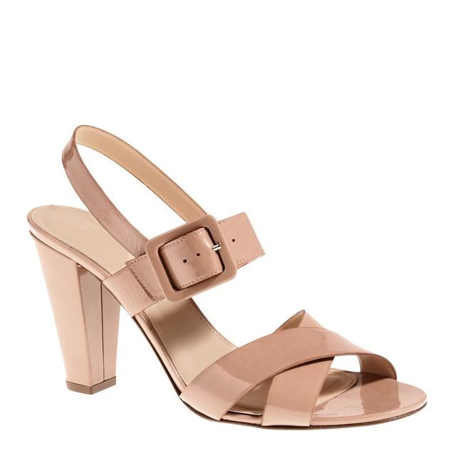 Sydney patent sandals