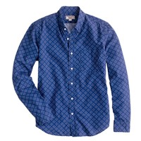 Slim Wallace & Barnes bandana-print shirt