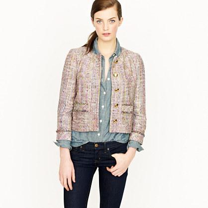 Confetti tweed jacket