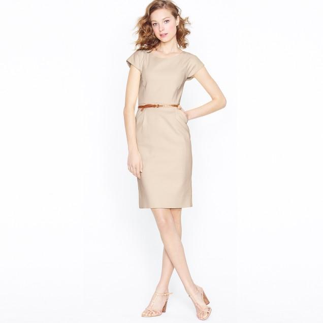 Marielle dress in superfine cotton