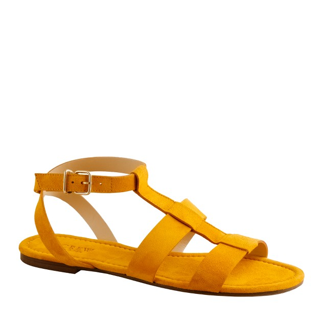 Olympia suede sandals