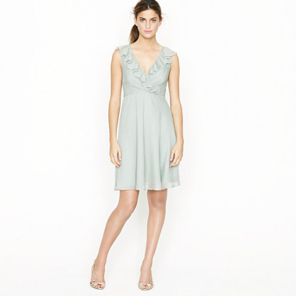 Macie dress in silk chiffon