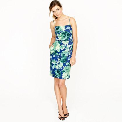 Fresco floral dress