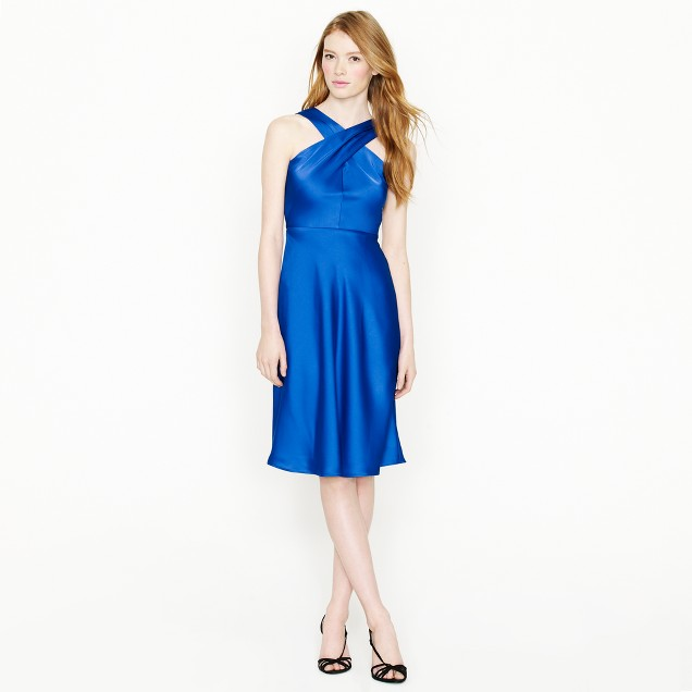 Sararose dress in tricotine