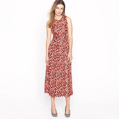 Frances dress in lifesaver print