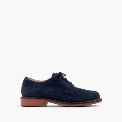 Kids' suede buck with contrast sole