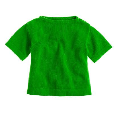 Girls' sweater tee