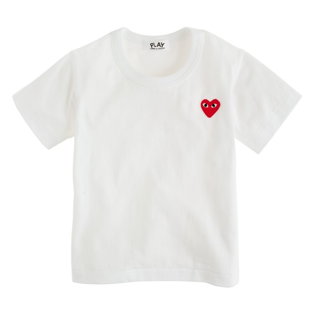 PLAY Comme des Garçons® printed heart tee