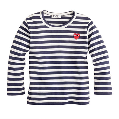 PLAY Comme des Gar�ons® stripe heart tee