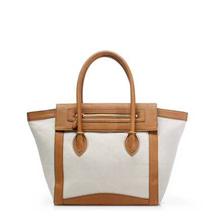 Tillary tote in canvas