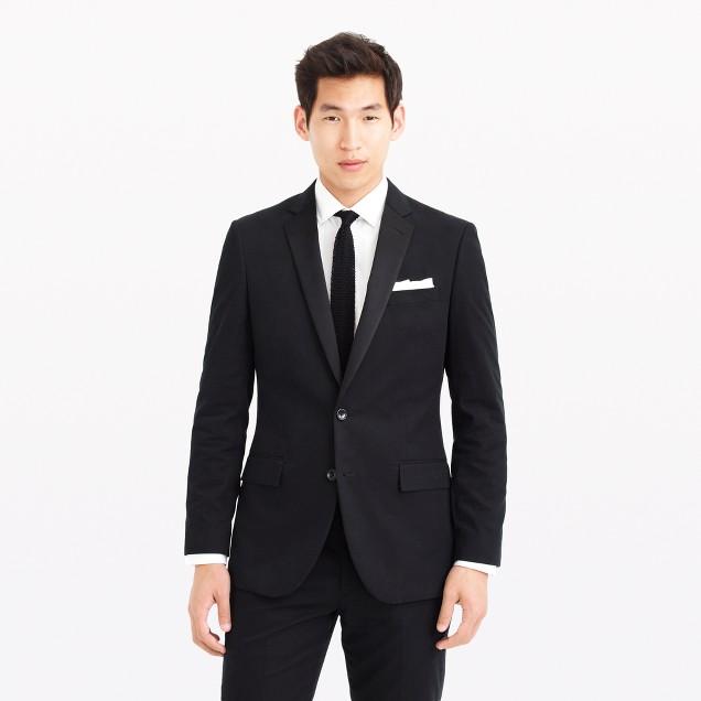 Ludlow tuxedo jacket in Italian chino