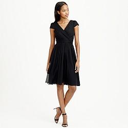 Petite Mirabelle dress in silk chiffon
