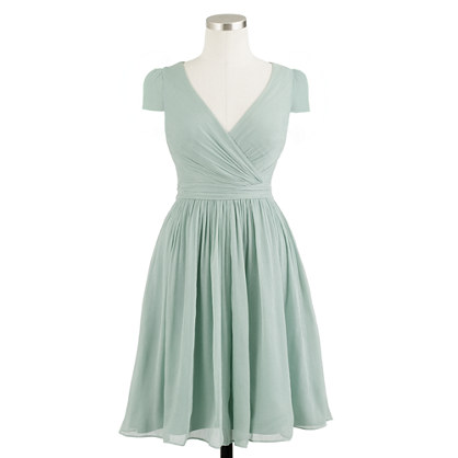 Mirabelle dress in silk chiffon