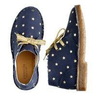 Girls' gold star MacAlister boots