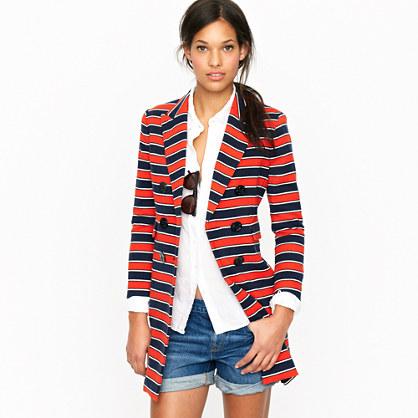 Gondola stripe coat
