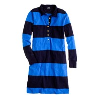 Rugby-stripe dress