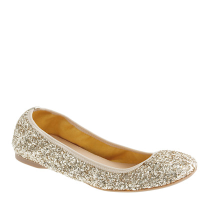 "Glitter Tabi ballet flats. USD The iconic ""Tabi"" divided toe by Maison Margiela lends a new twist to the classic ballet flat. They shine in silver glitter framed with black piping. View more View less. The size you selected is a # and corresponds to the # shown on the label."