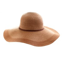 Two-tone straw hat