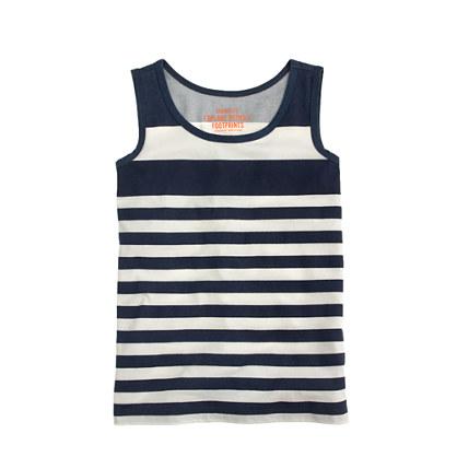 Boys' tank in stripe