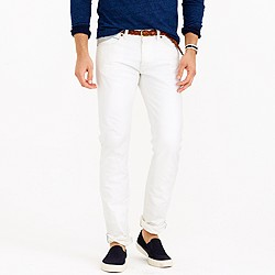 484 white rinse selvedge jean