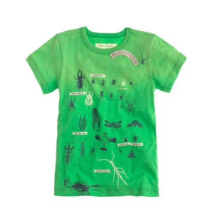 Boys' glow-in-the-dark bugs tee