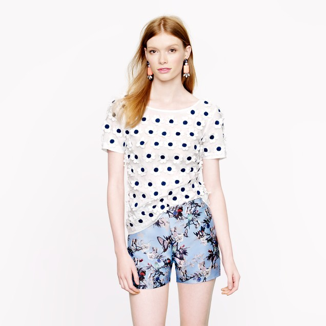 Collection hummingbird floral short