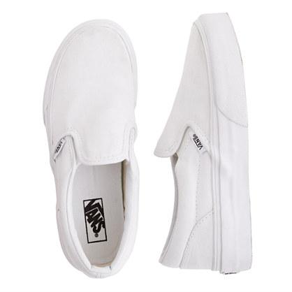 Kids' Vans® solid slip-ons