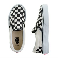 Kids' Vans® checkerboard slip-ons