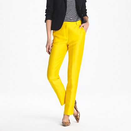 yellow womens pants - Pi Pants