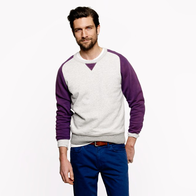 Wallace & Barnes colorblock sweatshirt
