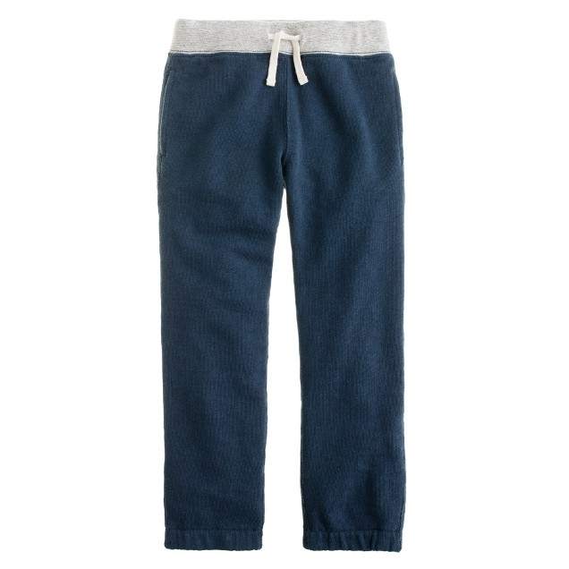 Boys' warm-up fleece sweatpant