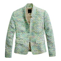 Collection acid daisy tweed jacket
