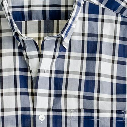Secret Wash lightweight shirt in Lindberg check